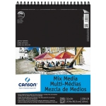 "Canson® Artist Series 11"" x 14"" Mixed Media Pad (Top Wire): Wire Bound, White/Ivory, Pad, 11"" x 14"", 138 lb, (model C200006187), price per pad"