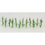 "Wee Scapes™ Architectural Model Corn Stalks: Multi, 150 sq in, Poly Fiber, Turf, 12-Pack, 1"", Flowers, (model WS00306), price per 12-Pack"