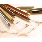Conte™ Sketching and Drawing Pencils 2B: 2B, Pencil, Drawing, (model C2270), price per each