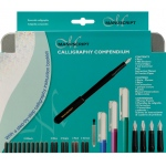 Manuscript Calligraphy Compendium Set: Multi, Nibs Included, (model MC150), price per set