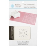 Martha Stewart Crafts™ Pattern Punch All Over The Page™ Magnetic Punch Stained Glass: Pattern, (model 42-91008), price per each