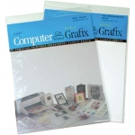 "Grafix® 8.5"" x 11"" Clear Adhesive Inkjet Film: Clear, Sheet, 6 Sheets, 8 1/2"" x 11"", Film"