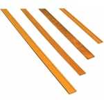 "Midwest Mahogany Door/Window Casing 6-Pack: Strip, 24"", 6 Strips, Mahogany, (model MW3162), price per 6 Strips"