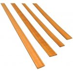 "Midwest Cherry Door Trim Interior 7-Pack: Strip, 24"", 7 Strips, Cherry, (model MW3171), price per 7 Strips"