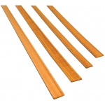 "Midwest Cherry Door/Window Casing 6-Pack: Strip, 24"", 6 Strips, Cherry, (model MW3172), price per 6 Strips"