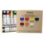 Williamsburg® Basic II 6-Color Oil Set: Multi, Tube, Multi, Oil, (model 6008600-0), price per set