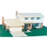 "Architectural Model-Building Material: 1/4"" Scale Architectural Model Kit"