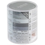PanPastel® Ultra Soft Artists Painting Pastels Grey Set: Black/Gray, Pan, Ultra Soft, (model PP30054), price per set