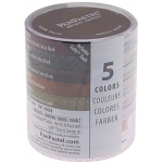 PanPastel® Ultra Soft Painting Pastels Extra Dark Earth Set: Multi, Pan, Ultra Soft, (model PP30058), price per set