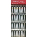 Gamblin 24-Color 150ml Artist Grade Oil Paint Display Assortment