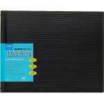 "Itoya® Art Profolio® Multi-Ring Refillable Binder 11"" x 8˝"" (horizontal): 11 Sheets, 8 1/2"" x 11"", (model HB118), price per each"