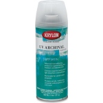 Krylon® Gallery Series™ UV Archival Varnish Spray Satin: Satin, 11 oz, Workable Fixative