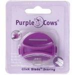 Purple Cows® Scoring Designer Click Blade: Replacement Part, Handheld Trimmer, (model PPC1043), price per each