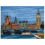 "Reeves™ Large Painting by Number Parliament: 12"" x 15 1/2"", (model PL92), price per each"