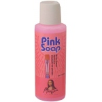 Mona Lisa™ Pink Soal Brush Soap 4 oz.: Bottle, 4 oz, (model PS04), price per each