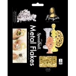 Mona Lisa™ Metal Flakes™ Gold: Metallic, 3 g, (model ML10009), price per each