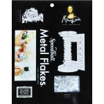 Mona Lisa™ Metal Flakes™ Silver: Metallic, 3 g, (model ML10010), price per each