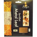 "Mona Lisa™ Metal Leaf™ Copper Sheets: Metallic, Sheet, 25 Sheets, 3 3/8"" x 3 3/8"", (model ML10205), price per 25 Sheets"