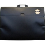 "Dekko Polypropylene Folios 17"" x 22"" Shadow Black: Black/Gray, Polypropylene, 17"" x 22"", (model DK0304), price per each"
