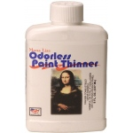 Mona Lisa™ Odorless Thinner 8oz: 8 oz, Solvents