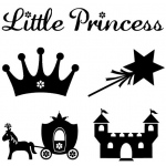 My First ColorBox® Mini Stamp Princess Set: No, Stamp