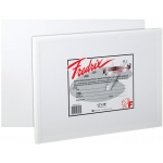"Fredrix® Artist Series 7 x 9 Canvas Panel 3-Pack: White/Ivory, Panel/Board, 3-Pack, 7"" x 9"", Stretched, (model T3206), price per 3-Pack"