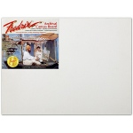 "Fredrix® PRO Series 11 x 14 Archival Cotton Canvas Board: White/Ivory, Panel/Board, Cotton, 11"" x 14"", Archival"