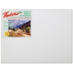 "Fredrix® PRO Series 12 x 16 Archival Linen Canvas Board: White/Ivory, Panel/Board, Linen, 12"" x 16"", Archival, (model T3430), price per each"