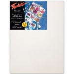 "Fredrix® Artist Series 12 x 16 Watercolor Stretched Canvas: White/Ivory, Sheet, 12"" x 16"", 11/16"" x 1 9/16"", Stretched, Watercolor, (model T5534), price per each"