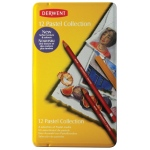 Derwent Pastel Pencil 12-Color Collection Tin Set: Multi, (model 0700300), price per set