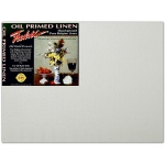 "Fredrix® PRO Series 16 x 20 Archival Oil Primed Linen Board: White/Ivory, Panel/Board, 16"" x 20"", Archival, (model T3398), price per each"