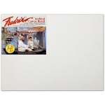 "Fredrix® PRO Series 18 x 24 Archival Cotton Canvas Board: White/Ivory, Panel/Board, Cotton, 18"" x 24"", Archival, (model T3419), price per each"