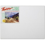 "Fredrix® PRO Series 18 x 24 Archival Linen Canvas Board: White/Ivory, Panel/Board, Linen, 18"" x 24"", Archival, (model T3434), price per each"