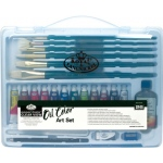 Royal & Langnickel® Essentials™ Clear View Oil Painting Set: Multi, Oil, (model RSET-ART3201), price per set