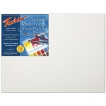 "Fredrix® Artist Series 12 x 12 Archival Watercolor Canvas Board: White/Ivory, Panel/Board, 12"" x 12"", Stretched, Watercolor"