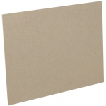 "Fredrix® 32"" x 40"" Mounting Board Brown Corrugated: Brown, 32"" x 40"", Mounting Board, (model T7311), price per each"
