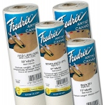 "Fredrix® Value Series 57 x 12yd Polyflax Acrylic Primed Canvas Roll: White/Ivory, Roll, Polyflax Canvas, 57"" x 12 yd, Acrylic, Primed, (model T10756), price per roll"