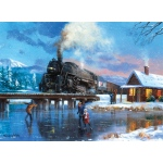 "Royal & Langnickel® Painting by Numbers™ 12 3/4 x 15 3/4 Adult Set Winter Magic: 12 3/4"" x 15 3/4"""