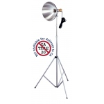 "Testrite® Studio Light: Metallic, 10"" & Up, Studio, 26-75w, (model 124/3A), price per each"
