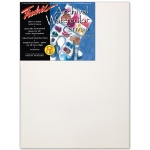 "Fredrix® Artist Series 9 x 12 Watercolor Stretched Canvas: White/Ivory, Sheet, 9"" x 12"", 11/16"" x 1 9/16"", Stretched, Watercolor, (model T5530), price per each"