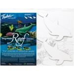 "Fredrix® Wyland® Dolphins Reef Series  : Panel/Board, 11"" x 14"", (model T2593), price per set"