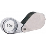Alvin® 10x Doublet Loupe with Case: 10x, Loupe, (model C792), price per each