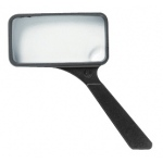 "Ultraoptix® 2x/6x 2"" x 4"" General Purpose Magnifier: 2x/6x, 2"" x 4"", Handheld, (model SVXP), price per each"