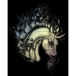 "Royal & Langnickel® Engraving Art Set Unicorn: 8"" x 10"", Metallic, (model HOLO22), price per set"