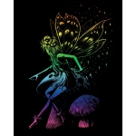 "Royal & Langnickel® Engraving Art Set Rainbow Fairy Princess: 8"" x 10"", Multi, (model RAIN22), price per set"