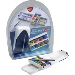 Winsor & Newton™ Cotman™ Watercolor Mini Plus: Multi, Pan, Watercolor, (model 0390396), price per set