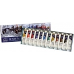 Winsor & Newton™ Cotman™ Watercolor 12-Color Set: Multi, Tube, 8 ml, Watercolor, (model 0390636), price per set