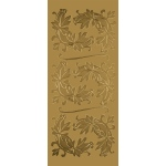 "Blue Hills Studio™ DesignLines™ Outline Stickers Gold #5: Metallic, 4"" x 9"", Outline, (model BHS-DL005), price per pack"