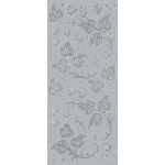 "Blue Hills Studio™ DesignLines™ Outline Stickers Silver #10: Metallic, 4"" x 9"", Outline, (model BHS-DL010), price per pack"
