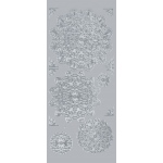 "Blue Hills Studio™ DesignLines™ Outline Stickers Silver #26: Metallic, 4"" x 9"", Outline, (model BHS-DL026), price per pack"